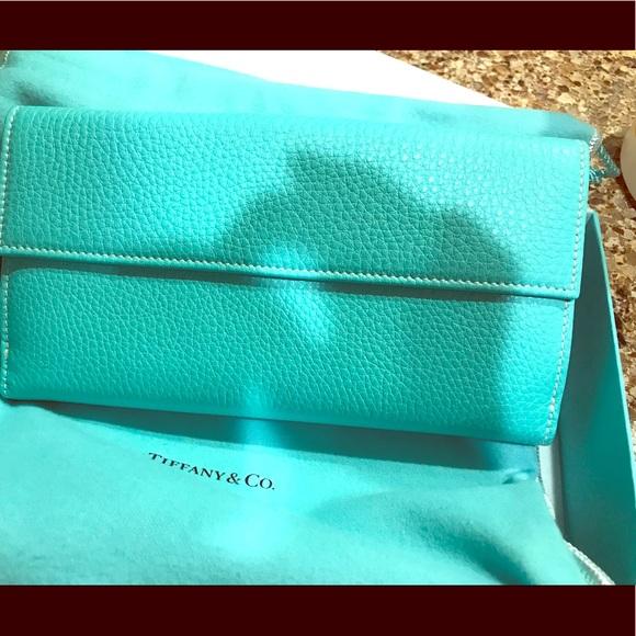 Tiffany   Co French tab continental wallet ba9e3f09654f5